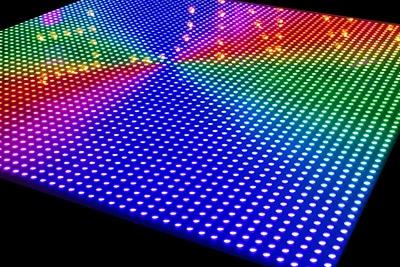 Panningen en Helden verlichte disco dansvloer huren de beste kwaliteit