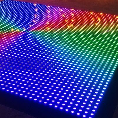 Verlichte disco dansvloer verhuur voor feesten en evenementen